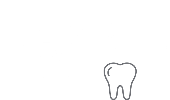 abstract graphic of octagon shapes and a large tooth